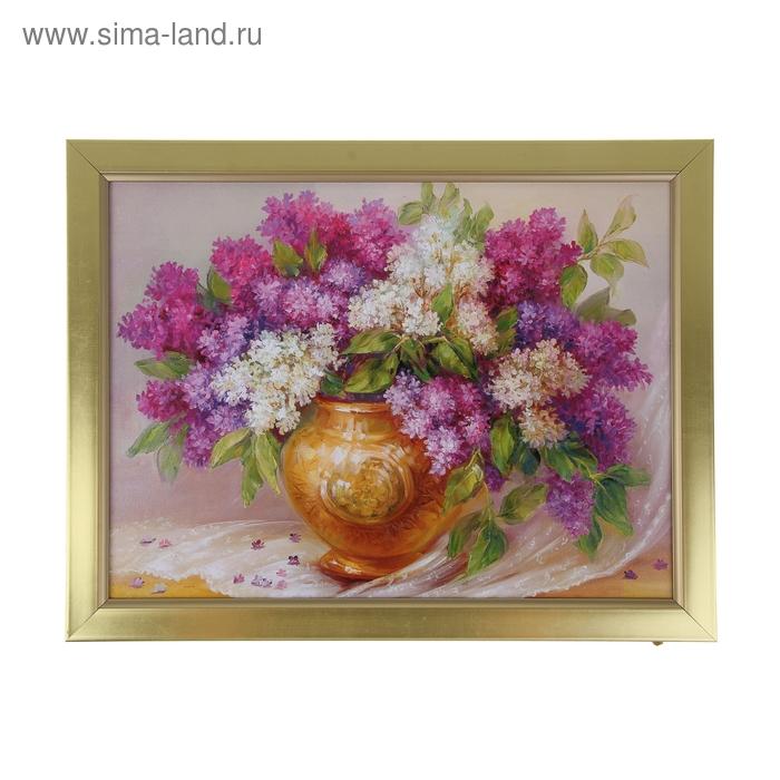 """Картина """"Сирень в вазе"""""""