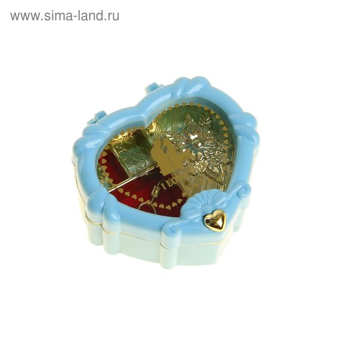 """Шкатулка музыкальная """"Сердце"""", МИКС"""