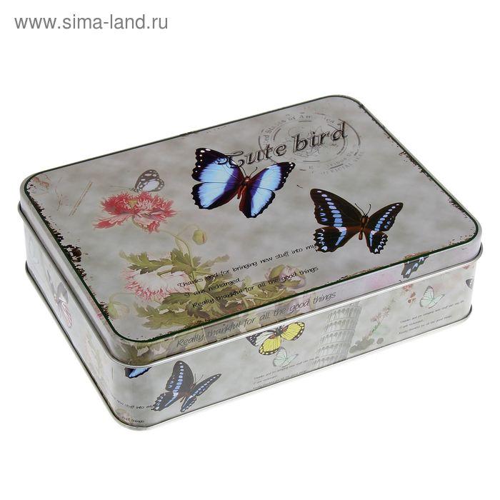 """Шкатулка """"Бабочки"""""""