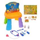 Столик для игры 2в1 (столяр-доктор)  в пакете