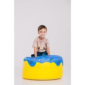 Футболка детская Collorista 3D Mouse, возраст 1-2 года, рост 86-92 см, цвет бежевый