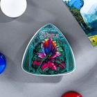 "Magnet triangle ""Ural"", ceramic, decal"