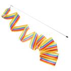 Gymnastics ribbon with wand, 6 m, MIXED