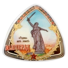 "Magnet triangle ""Volgograd"", ceramic, decal"