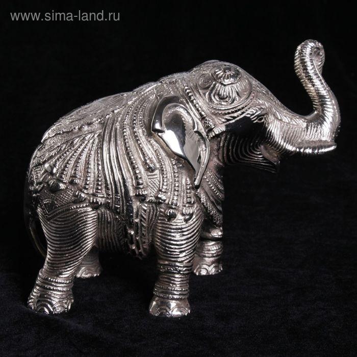 """Сувенир """"Слон"""" никелированный"""