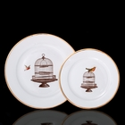 "Набор из двух тарелок ""Dolce vita"" - фото 297452214"
