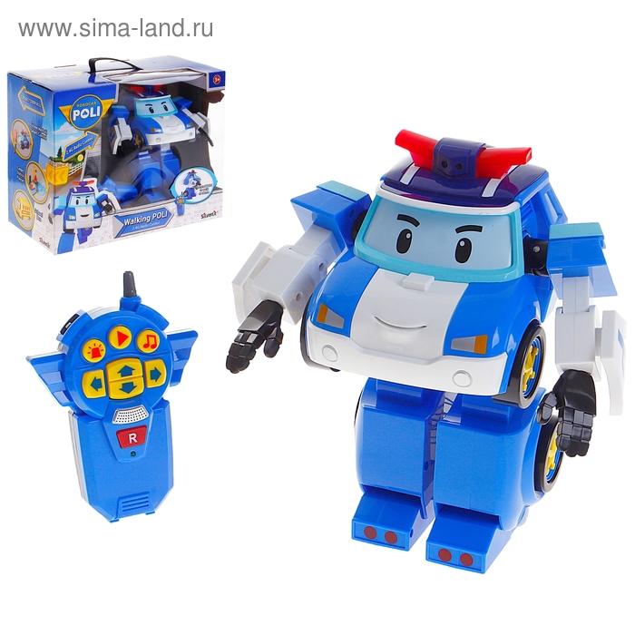 """Робот-трансформер на радиоуправлении """"Поли"""""""
