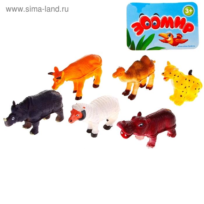 """Набор животных """"Ферма"""", 6 штук"""