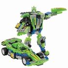 Конструктор-трансформер «Спорткар», 129 деталей, цвета МИКС - фото 105633343