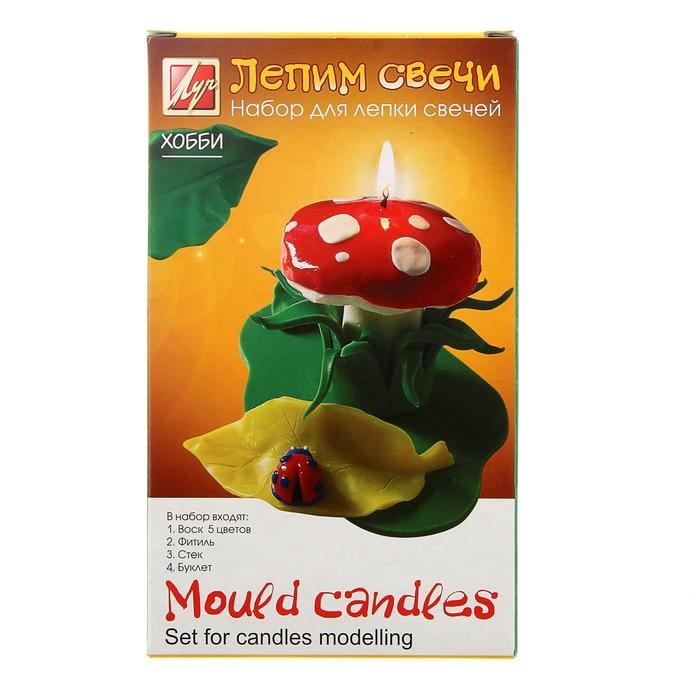 """Набор для лепки свечей """"Лепим свечи"""" 21С 1390-08"""