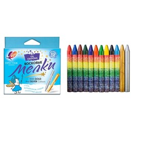 Oil Crayons 12 colors, Prestige.