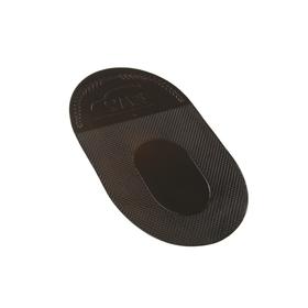 Коврик противоскользящий TORSO 12х18 см, черный