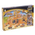 Парковка «Строительство здания», 4 машины + 1 вертолет - фото 105644269