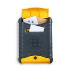 """Ящик почтовый вертикальный, с замком, """"Стандарт"""", с накладкой, цвет МИКС"""