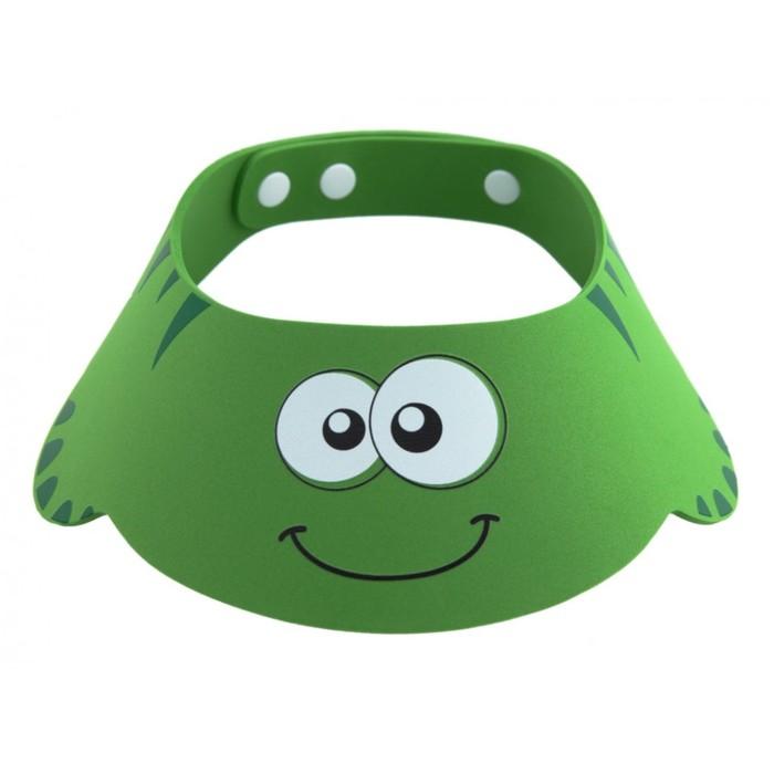Козырек защитный для мытья головы, зеленый ROXY-KIDS