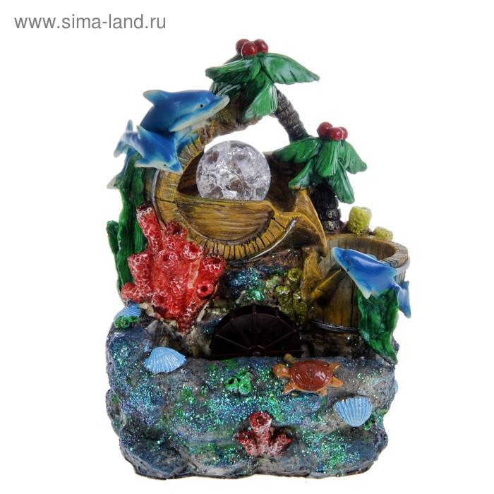 """Фонтан """"Морской"""" коралловые рифы"""