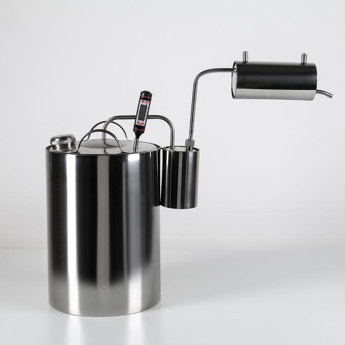 Самогонный аппарат «Стандарт», 12 л, сухопарник, электронный термометр