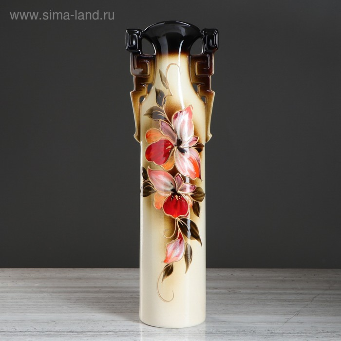 "Ваза напольная ""Сакура"" орхидея"