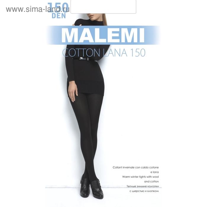 Колготки женские MALEMI Cotton Lana 150 (nero, 4)