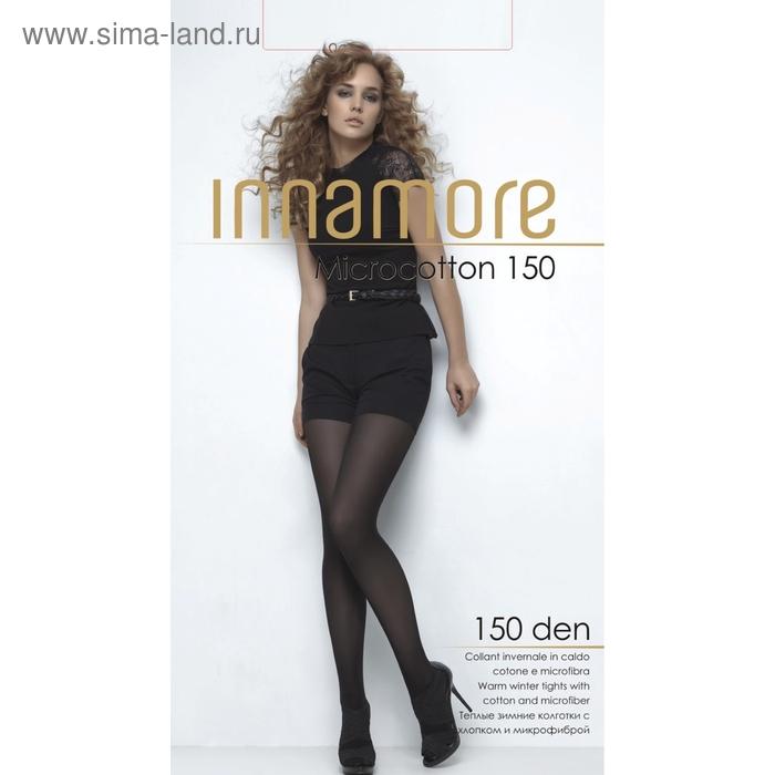 Колготки женские INNAMORE Micro Cotton 150 (nero, 5)