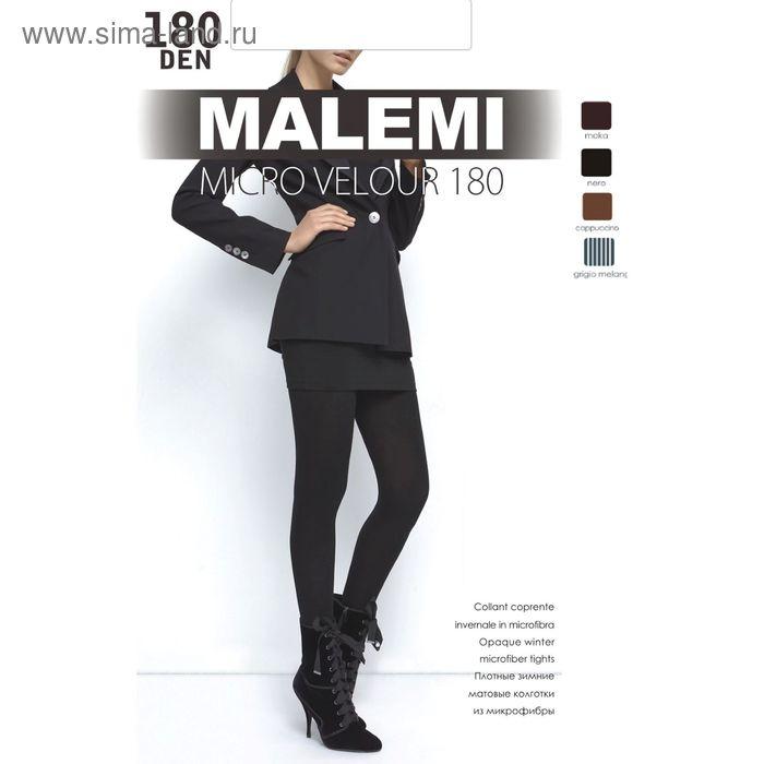 Колготки женские MALEMI Micro Velour 180 (bianco, 4)