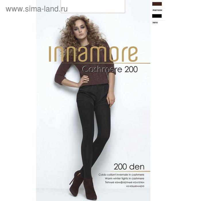 Колготки женские INNAMORE Cashmere 200 (Antracite melange, 4)