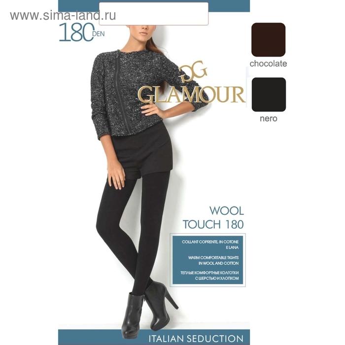 Колготки женские GLAMOUR Wool Touch 180 (nero, 4)