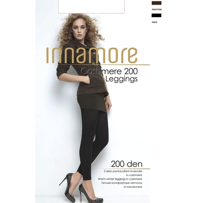 Легинсы INNAMORE Cashmere Leggings 200 (nero, 4)