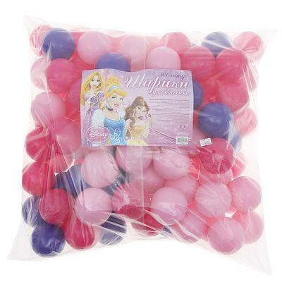 """Набор шариков для бассейна в сумке """"Принцесса"""", диаметр шара 7 см"""