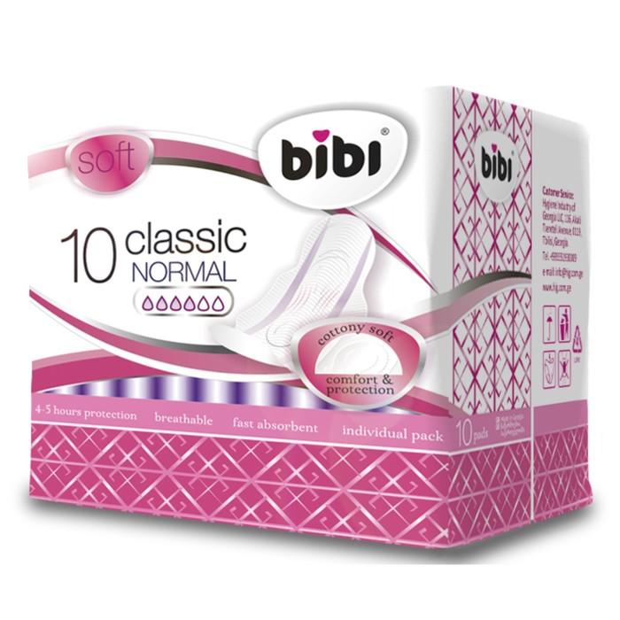 Прокладки «BiBi» Classic Normal soft, 10 шт