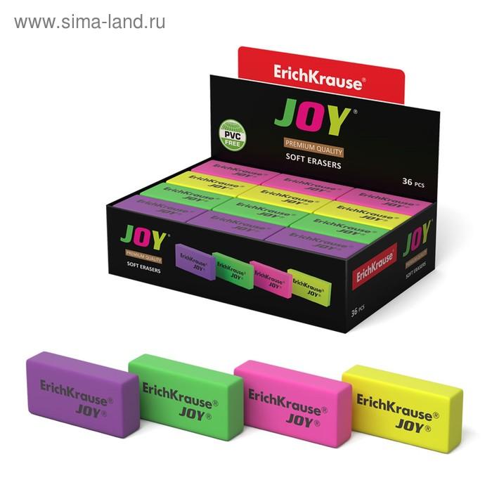 Ластик JOY, микс, EK 34649