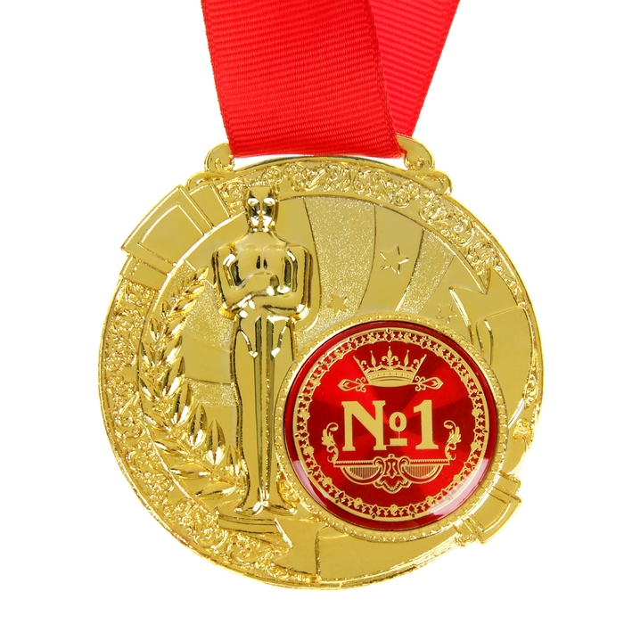 Открытки, медаль в открытке