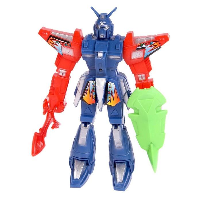 Робот-трансформер «Пришелец», в пакете