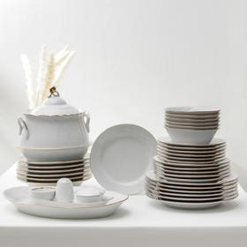 Сервиз столовый «Классик», 37 предметов, 4 вида тарелок