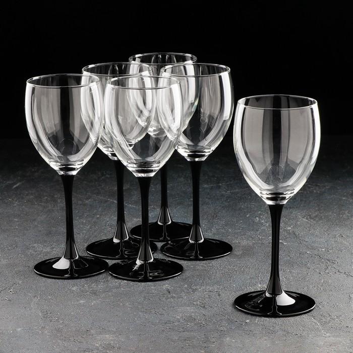 """Набор фужеров для вина 350 мл """"Домино"""", 6 шт."""
