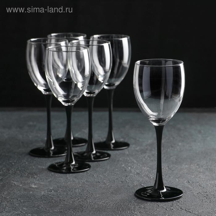 """Набор фужеров для вина 250 мл """"Домино"""", 6 шт."""