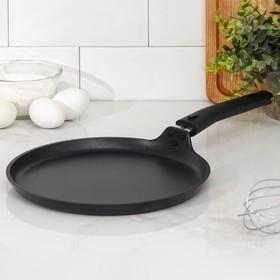 Сковорода блинная 24 см, съёмная ручка, антипригарное покрытие