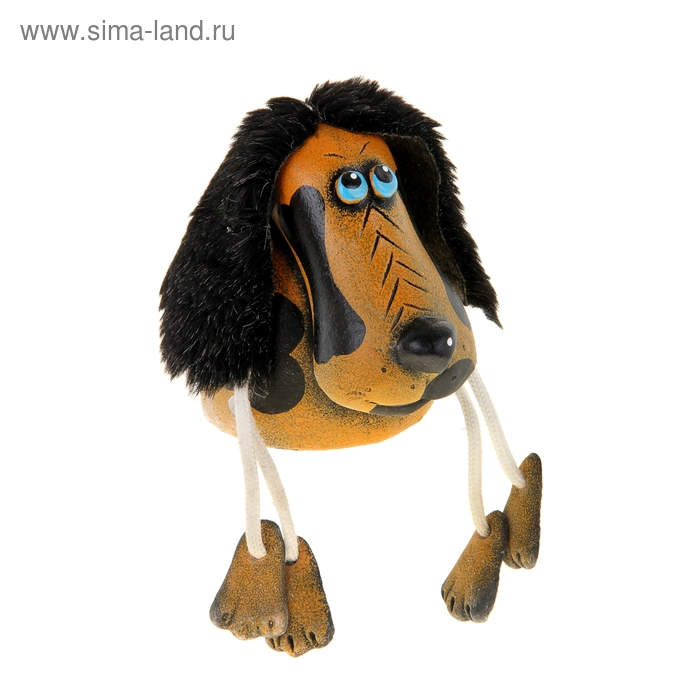 "Копилка ""Собака"" коричневая"