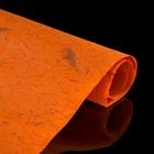 """Бумага упаковочная """"Дели"""", оранжевая"""