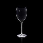 """Бокал для вина """"Мечта"""", черный, 380мл"""