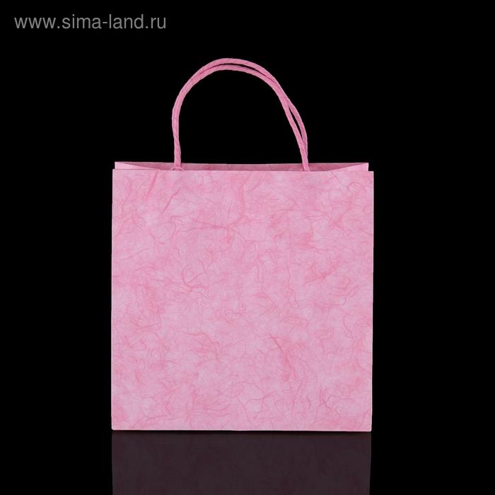 """Пакет подарочный """"Стокгольм"""", розовый"""