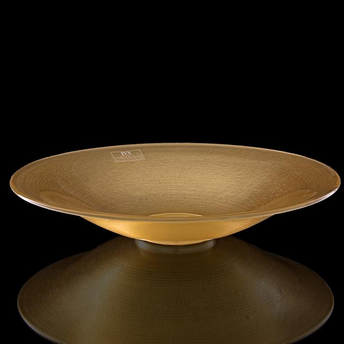 """Блюдо """"Зодиак"""", золотое - фото 194568442"""
