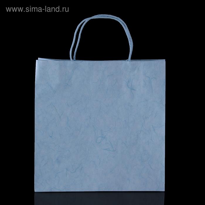 """Пакет подарочный """"Стокгольм"""", голубой"""