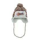 Шапка дет.зимняя Streets, объем головы 48-50см (2-3года), цвет коричневый