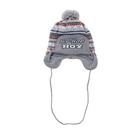 Шапка дет.зимняя Хип хоп, объем головы 46-48см (1-2года), цвет серый