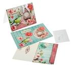 Набор для создания открытки «Поздравляю», 15 х 11 см