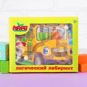 Лабиринт магнитный малый «Автобус»