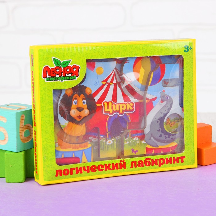 """Лабиринт магнитный малый """"Цирк"""""""