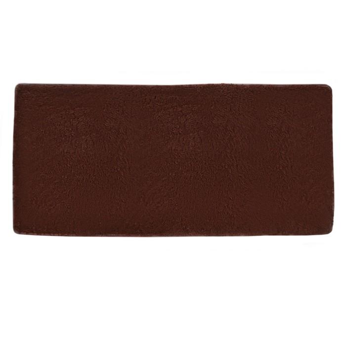 "Коврик для дома 160х80 см ""Джакомо"", цвет коричневый"