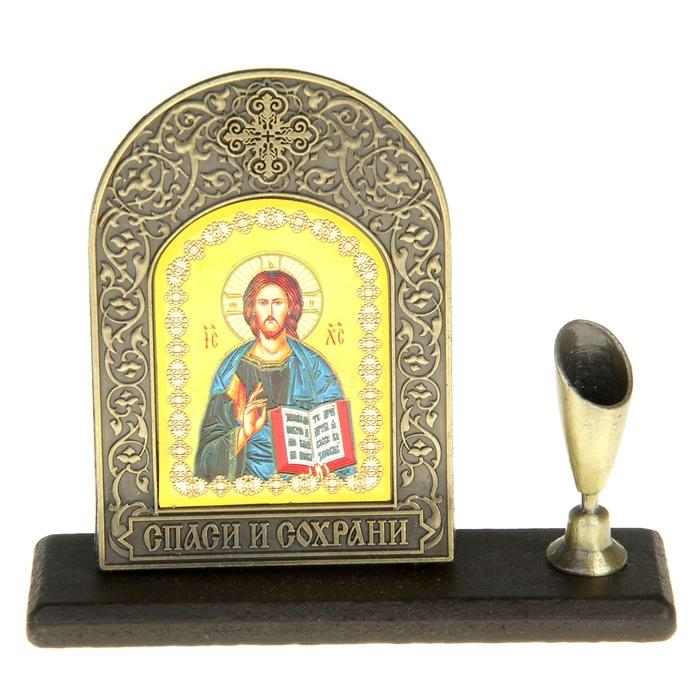 """Подставка для ручки с иконой """"Господь Вседержитель"""" - фото 370194817"""